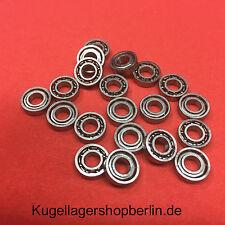 Miniaturkugellager , 1 Stück  Miniaturkugellager   684  offen (4 x 9 x 2,5  mm)