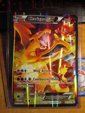 NM JUMBO Pokemon Full Art CHARIZARD EX Card BLACK STAR Promo XY121 Set OVERSIZED