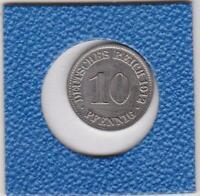 10 Pfennig 1912 A Deutsches Reich German Empire