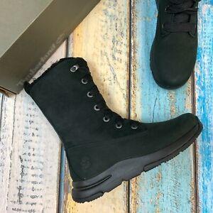 Timberland Women's Nubuck Leather Waterproof Snow Boots