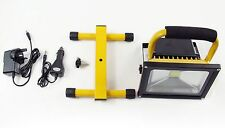 10w Outdoor Portable Hi Power White LED Work Light Rechargeable FloodLight IP65