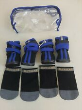 Ruffwear Boots Ruff Wear for Dogs Black Blue Dog Shoes Size S Small with socks