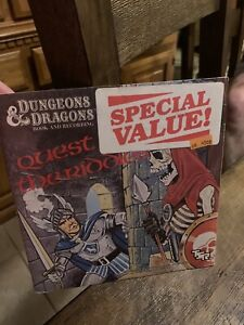 Dungeons & Dragons Quest of the Riddles 1984 Book & Record Vinyl NEVER OPENED