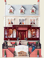 1/12 Scale Dolls House Emporium Marshall and Snellgrove Shop and House kit 1649