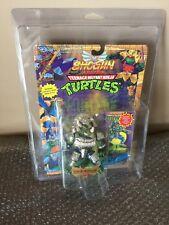 Vintage Playmates TMNT Teenage Mutant Ninja Turtles Shogun Triceraton MOC RARE!
