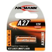 5 x Ansmann Batterie A27 V27A V27  Blister 12V 20mAh  Blister Verpackt  NEU