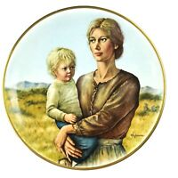 Promises To Keep Collector Plate 1975 Limited Gorham Fine China Irene Spencer