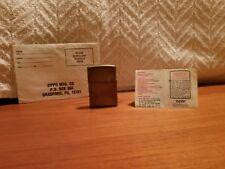 Vintage zippo lighter J VIII Bradford PA. made in USA