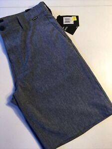 "Hurley Men's Size 44 Phantom Shorts 20"" Chino 895086 451 Blue Modern Fit"