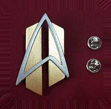 Star Trek The Next Generation Communicator Pin Combadge Badge ALL GOOD THINGS
