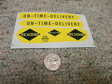 Herald King decals O Reading On-Time Delivery   XX113