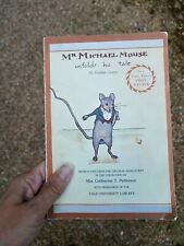 Mr Michael Mouse Unfolds His Tale Walter Crane 1956 Yale Press Vintage Book