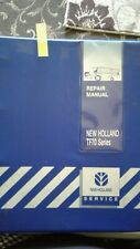 Ford New Holland TF70 combine repair Service Manual dealer spec