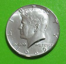 1969-D 50C Silver Kennedy Half Dollar - Uncirculated