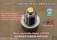 US Made 12mm MAGNETIC OIL DRAIN PLUG Aprilia AF1 Classic 125 ETV 1000 MX125 Supe