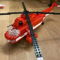 Hélicoptère sauvetage Mega Bloks ❤️ Sea Rescue - Pro Builder Collector Series