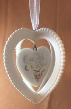 Hallmark Keepsake Our First Christmas Together 2015 Tree Ornament Porcelain