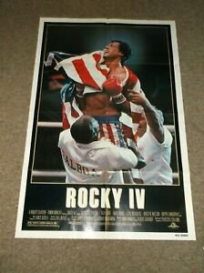 ROCKY IV(1985)SYLVESTER STALLONE ORIGINAL ONE SHEET POSTER FOR ROCKY 4