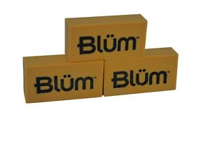 BLUM ART GUM ERASER x3 - removes pencil from books and paper - SLIGHT SECOND