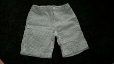 Boys size 5 Milkshake navy/white shorts