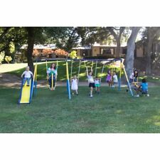 Sportspower Super 10 Me and My Toddler Swing Set, Yellow