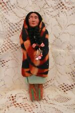 Antique Indian Skookum Bully Good Doll Original Label