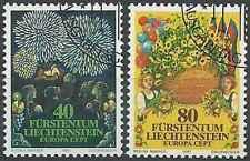 Timbres Europa Liechtenstein 705/6 o lot 6662