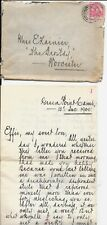 SOUTH AFRICA COVER / LETTER FROM CAMP GREEN POINT 1900 B/S WORCESTER