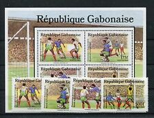 Gabun 1045/48 Block 63 postfrisch / Fußball ..............................1/1322