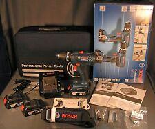Bosch GSR 18-2-LI Plus Professional Akku-Bohrschrauber + 33-tlg. Zubehör NEU