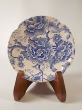 Vintage Johnson Brother's English Chippendale Blue Pattern Saucer Plate