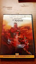 STAR TREK II THE WRATH OF KHAN DVD WITH ORIGINAL CASE GREAT WORKING CONDITION