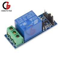 5PCS 12V One 1 Channel Relay Module Optocouple Board Shield For PIC AVR ARM  MCU