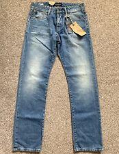 BNWT Scotch and Soda Snatch Regular Fit Mens Blue Denim Jeans | 30W 32L