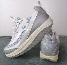 Skechers Shape-Ups Shoes Women's Size 8.5 Gray White