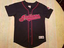 8bec1a5635d MLB Majestic  52 CC Sabathia Cleveland Indians Jersey Medium Youth Chief  Wahoo