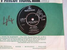 ADAM FAITH IDLE GOSSIP / IF EVER YOU NEED ME  parlophone 5398 EX+