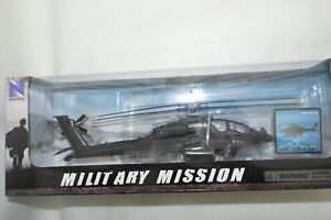 NEW RAY 1:55 BOEING AH-64 APACHE ATTACK HELICOPTER US ARMY
