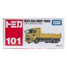 Takara Tomy Tomica #101 Isuzu Giga Dump Truck Diecast Toy Car JAPAN