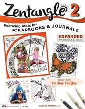 Zentangle 2, Expanded Workbook Edition by Suzanne McNeill NEW (Paperback, 2014)