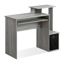Computer Desk Table Home Office Workstation Laptop Study Writing Furniture Bin