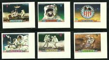 Liberia Apollo Moon Mission Deluxe Imperforates Mint NH RARE