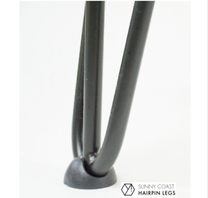 Hairpin Leg Floor Foot Protector Glide | Set of 4 Black FREE POSTAGE from AUST
