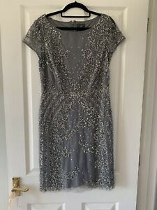 Adrianna Papell Sequin Dress Size 10