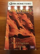 Wonders Of The African World VHS: Black Kingdoms Of THe Nile Rare PBS Home Movie