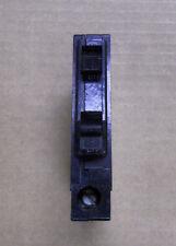 SQUARE D QOT twin 15 amp 120v QOT1515 Metal Hook Circuit Breaker Vertical QO