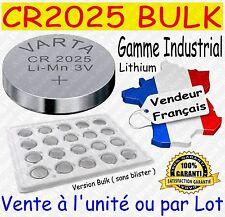 Piles CR2032 Lithium 3V VARTA - Gamme INDUSTRIAL BULK x 1 2 5 10 20 30 40 50 100