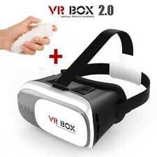 """REALIDAD VIRTUAL Gafas 3D VR BOX 2.0 Video Para Smartphone 3,5"""" - 6,0"""" Con Mando"""
