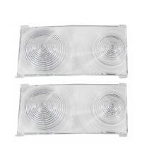 USA-Made! 1965 Chevelle, El Camino Tail Light Lens, Inner - Pair NEWTrimParts!