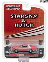 1976 FORD GRAN TORINO Starsky e Hutch Greenlight Limited Edition 1/64 New Nuovo